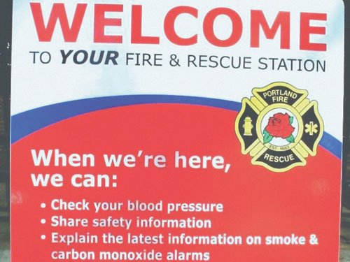 As part of High Blood Pressure Education Month, Portland Fire and Rescue reminds Portlanders they can visit their neighborhood station ...