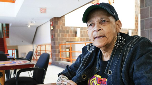 Roxbury homeowner Patricia Hecker struggled to stay warm in her drafty house before the United South End Settlements Senior Home Repair Program provided assistance, in partnership with the Department of Neighborhood Development's Boston Home Center.