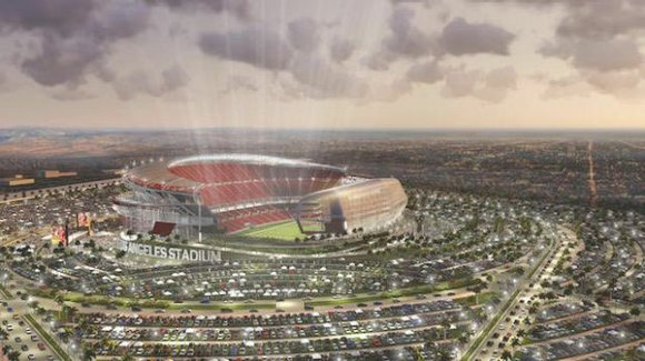 The team doesn't yet have a name, but plans were announced this week that a new soccer stadium will be ...