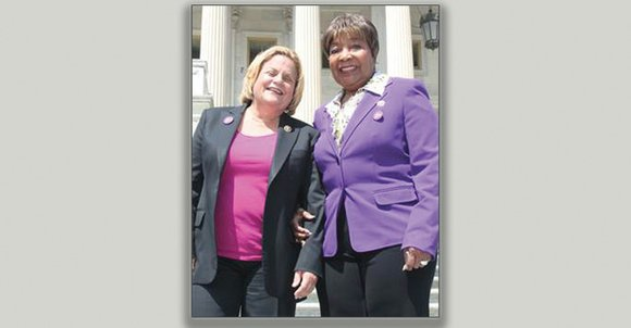 On Friday, Congresswoman Eddie Bernice Johnson joined fellow Congressional Lupus Caucus Co-Chair Congresswoman Ileana Ros-Lehtinen to recognize Put on Purple ...