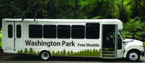 Washington Park has a new, free park-wide shuttle for summer allowing visitors to park once or to take TriMet or ...