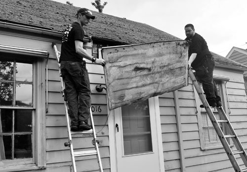 A group of volunteers worked hard transforming the northeast Portland home of a low-income, disabled woman, making it easier and ...