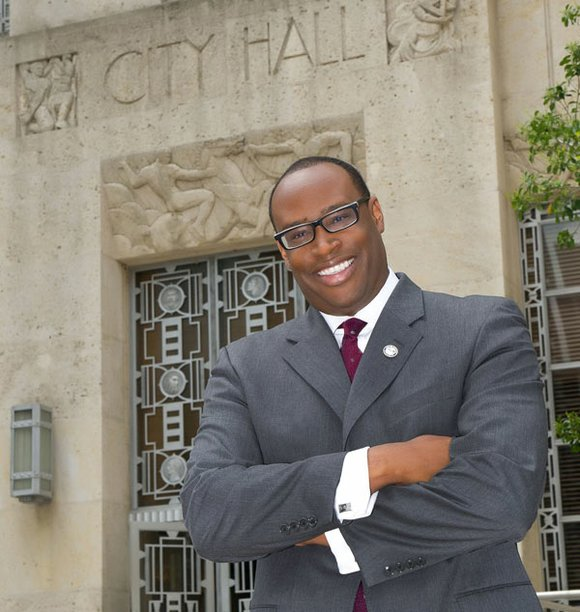Houston City Council Member Larry V. Green, representing Council District K, is poised to demolish an unsound, dilapidated structure on ...