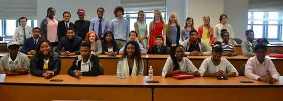 On Wednesday, May 20, 2015, I had the privilege of being a judge at NFTE Business Plan Competition Semifinals.