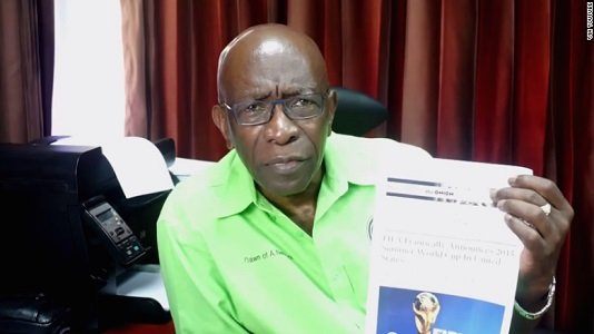 An embattled former FIFA official has scored a spectacular public relations own-goal by citing an article by satirical news outlet ...