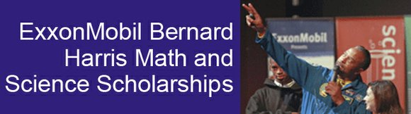 Council of the Great City Schools Awards ExxonMobil Bernard Harris Scholarships