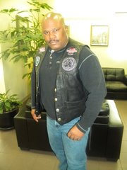 Terry Hardy World of Soul Motorcycle Community founder and president.