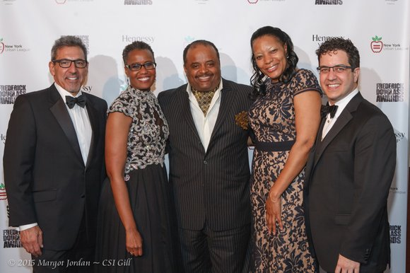 The New York Urban League held its 50th anniversary Frederick Douglass Dinner Tuesday, May 19 at Pier Sixty.