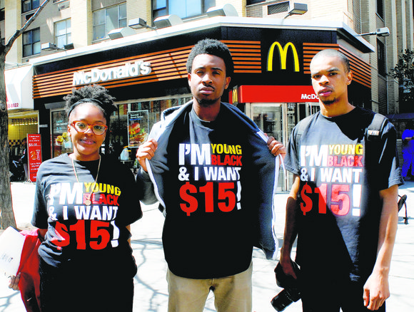 More than 180,000 fast-food workers in the state are praising the the New York Wage Board after they unanimously vote ...