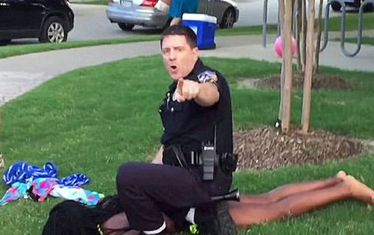 Texas Cop Resigns Over Pool Party Debacle Richmond Free
