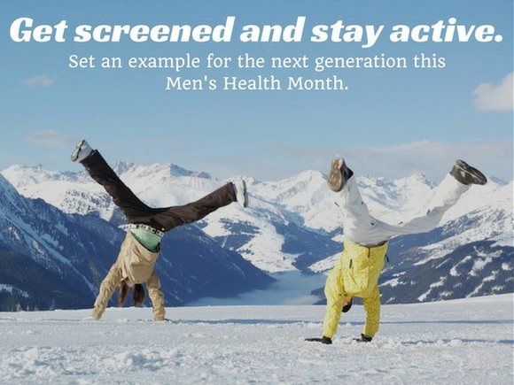 Men's Health Month (June) continues. This year marks the 21st year since National Men's Health Week (NMHW), now a part ...
