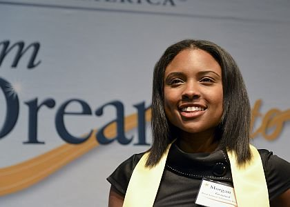 When Morgan Grayned opened the envelope from the Buick Achievers' scholarship program and learned that she would receive $24,000 a ...