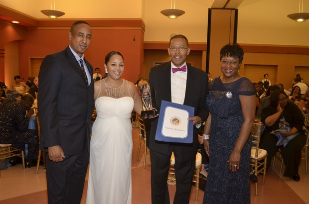 Michael Lacy, Ta Lese Morrow, Dr. Lawrence Harkless & Juanita Dawson Chair of the Publisher's Advisory Board