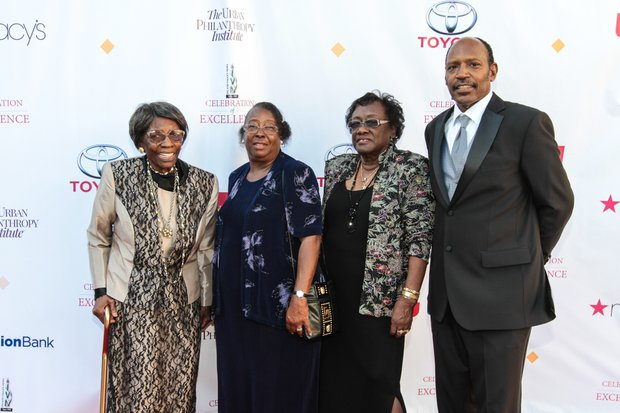 Mother Evelyn Wilson,  Clara Hudson, Dorothy Tinch and Rodnie Wilson