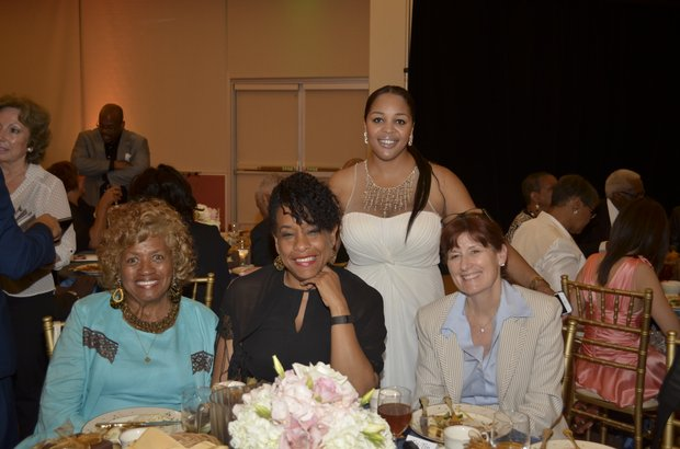 Co-Publisher Ta Lese Morrow with group of phenomenal women