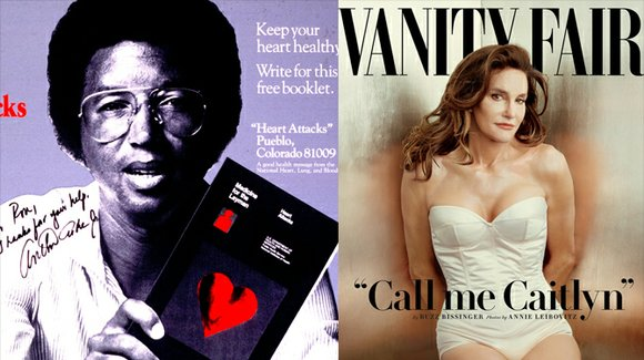 Is Caitlyn Jenner an accurate depiction of the Arthur Ashe Courage Award?