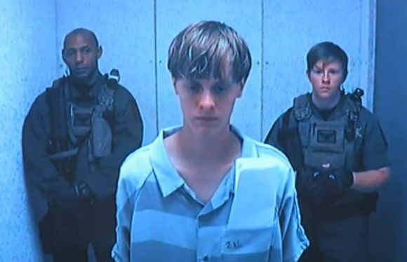 The man who confessed to killing nine people at a Black church in South Carolina has his bond hearing.