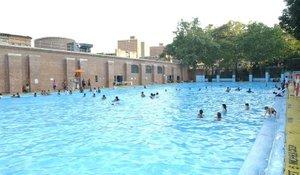 Jackie Robinson Park swimming pool in Harlem