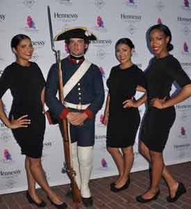 Hennessy hosted an exclusive gathering on board the L'Hermione tall ship docked in Baltimore's Harbor Place Mall to celebrate French-American ...