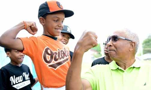 The Major League Baseball Players Association (MLBPA) recently hit a 'Grand Slam' with the James Mosher Baseball youth league. On ...