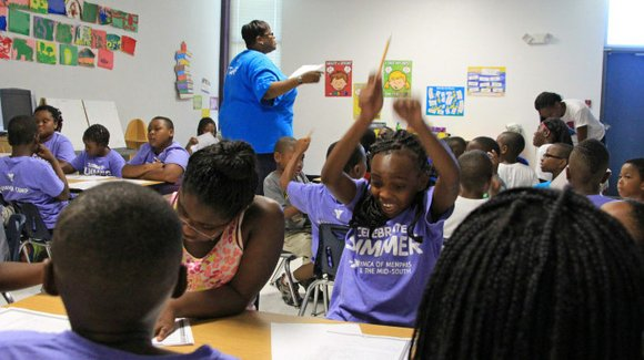 Organization brings daily classes to help students read on appropriate levels.