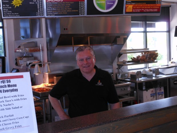 "Ron Rupp said he named his Shorewood restaurant of RQ BBQ because RQ stands for ""real quality."""