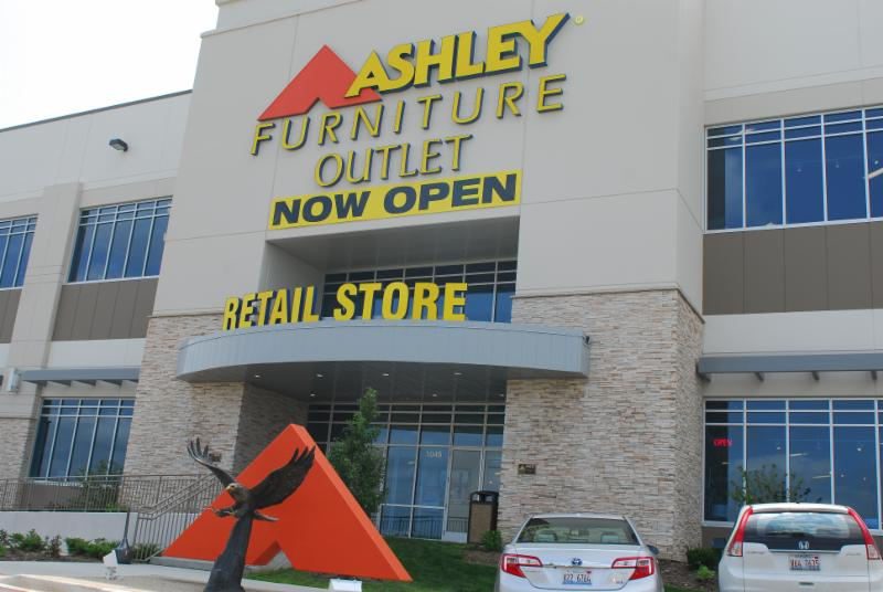 Ashley Furniture Opens Outlet Store In Romeoville The