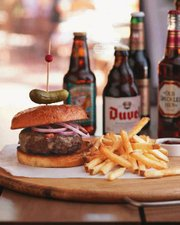 Tommy Bahama's Smokehouse Burgers