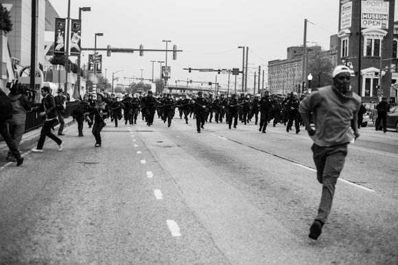 New exhibit looks at Baltimore protests following death of Freddie Gray. Emily King talks 'The Switch' she experienced as an ...