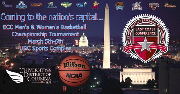 """We are excited about this tremendous opportunity to host the East Coast Conference Basketball Championships,"" UDC Director of Athletics Patricia ..."