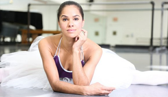 President Barack Obama and Misty Copeland -- the first African-American principal dancer at the American Ballet Theater --- used a ...