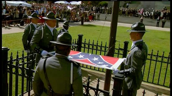 Shortly after the removal of the Confederate flag from the South Carolina statehouse grounds, Gov. Nikki Haley told CNN's Don ...