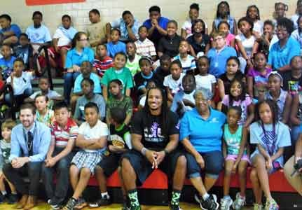 It is not every day that local youth have an opportunity to meet a Super Bowl winner, spend time discussing ...