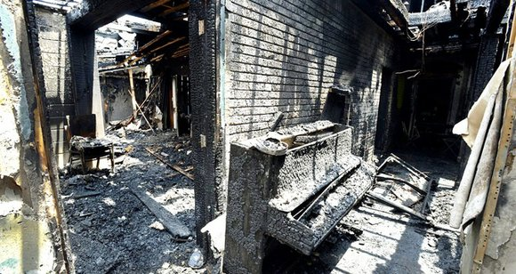 At least five Black churches burned overnight recently and three have been attributed to arson.