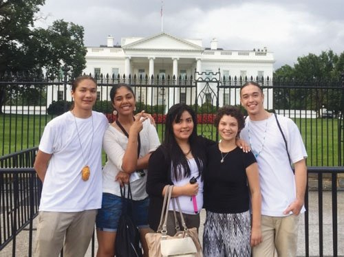 The Native American Youth and Family Center of northeast Portland sent five youth to the first White House Tribal Youth ...