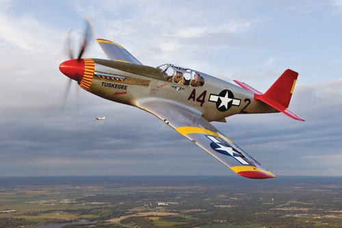 The Commemorative Air Force Red Tail Squadron, America's tribute to the Tuskegee Airmen, is bringing its Rise Above mobile theater ...