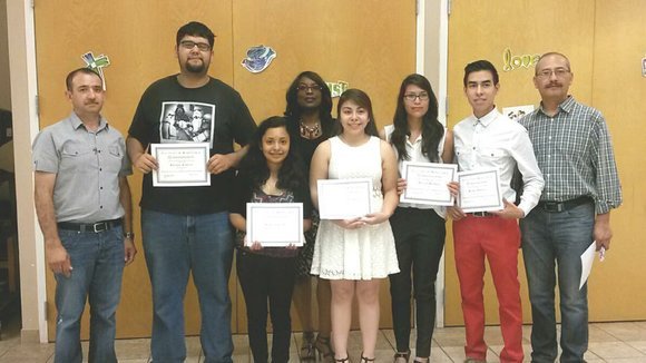 The $5,000 in grant money was awarded through Joliet-based Familias Unidas por la Educacion.