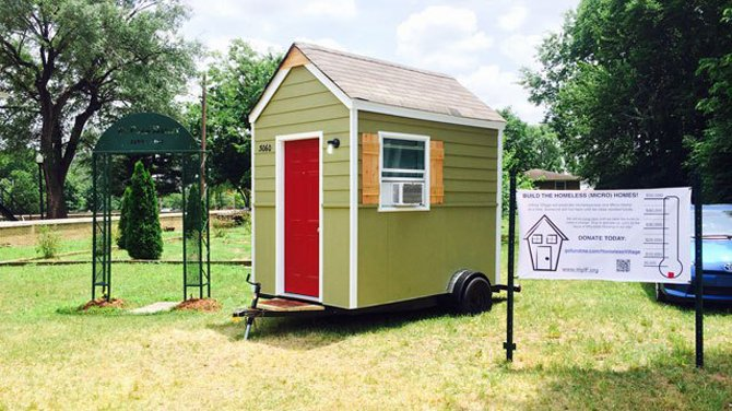 Miraculous Push To Build Micro Homes To Shelter Nashville Homeless Has Roots Largest Home Design Picture Inspirations Pitcheantrous