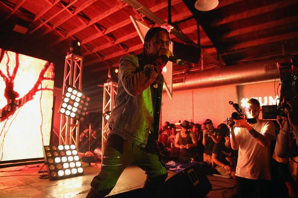 "Travis Scott shares a new album title, ""Astroworld,"" while confirming the project that will precede it, during a recent ""ANTI"" ..."