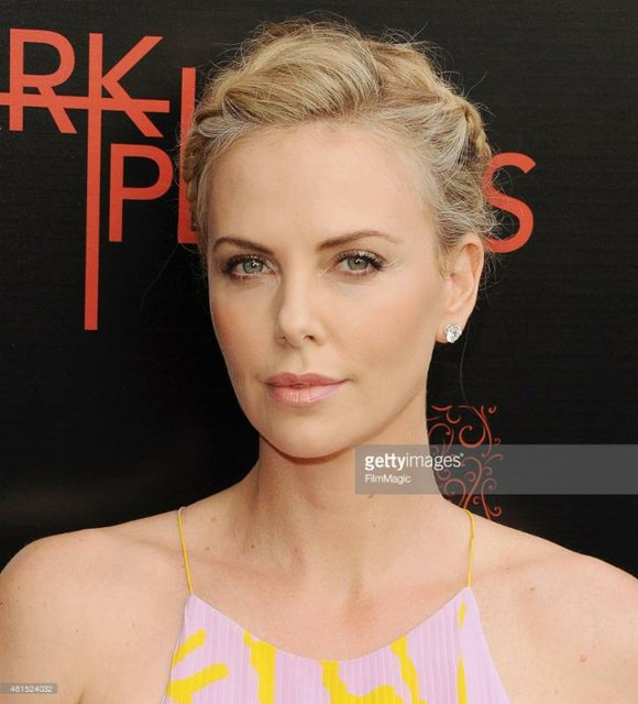 Charlize Theron at The LA Premiere of 'Dark Places' at Harmony Gold Theatre in Los Angeles, CA on July 21st, ...