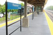 The Flossmoor, Ill. Metra stop platform, where nearly 60 train stops are made each weekday, was in dire need of repair.