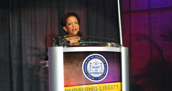 U.S. Attorney General Loretta Lynch pushed the NAACP to keep fighting for equality in education, economics and the criminal justice ...