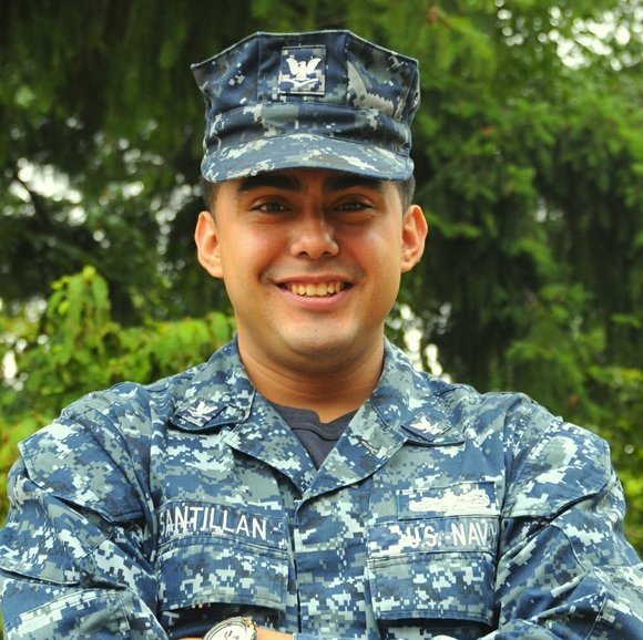Petty Officer 3rd Class Hector Santillan Serves with the Navy ...