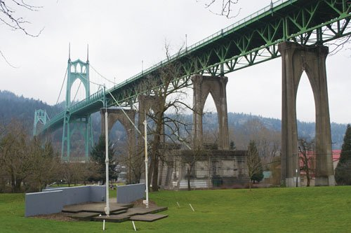 Cathedral Park in St. Johns will host the Willamette River Revival Festival this Sunday.