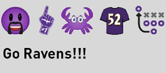 Capitalizing on the explosive global use of emoji, the Baltimore Ravens have launched a customized, Ravens-branded emoji keyboard designed to ...