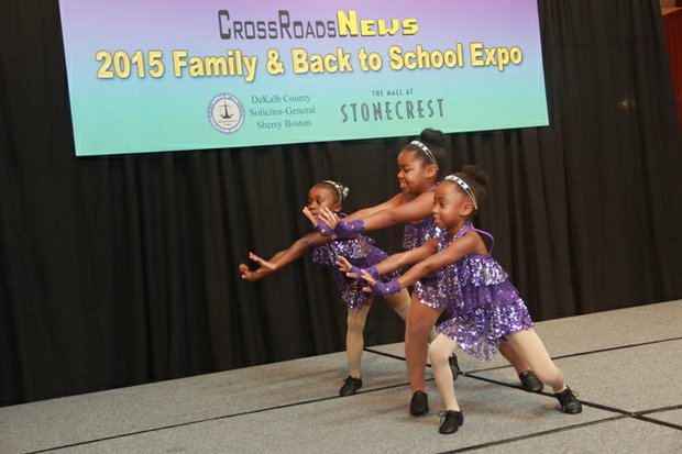 """The Georgia Stars Academy of Dance's """"Glamettes"""" charmed the audience with their dance routines."""
