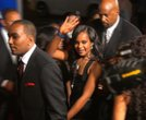 """Bobbi Kristina Brown appears on the red carpet at the Los Angeles premiere of """"Sparkle"""" on August 16, 2012."""