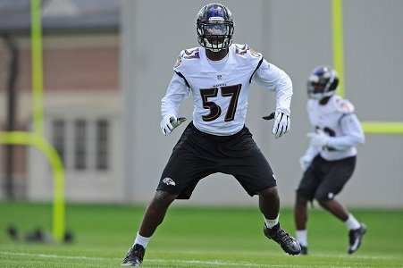 C.J. Mosley had an outstanding rookie season last year with the Baltimore Ravens.