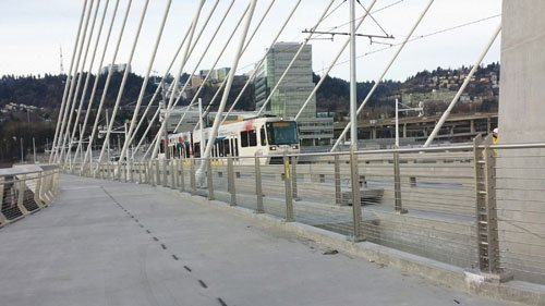 Portlanders will have the opportunity to be among the first to cross Portland's newest bridge, Tilikum Crossing, as it becomes ...