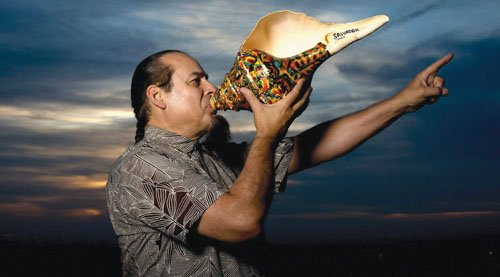 "Steve Turre, a preeminent jazz innovator, trombonist and pioneering seashell virtuoso, and member of the ""Saturday Night Live"" cast since ..."